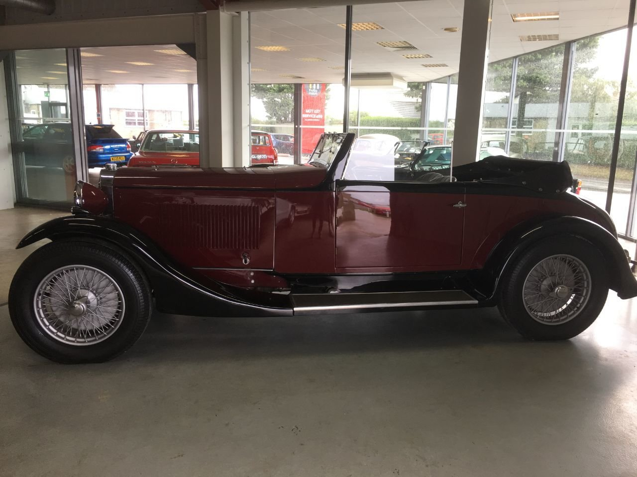 1932 Sunbeam 20 drophead coupe For Sale (picture 3 of 4)