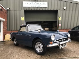 1964 SUNBEAM ALPINE WITH A 1725 ENGINE AND OVERDRIVE For Sale