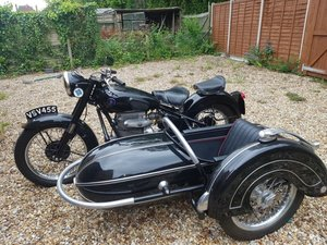 1949 Sunbeam S8 with Steib Sidecar For Sale by Auction