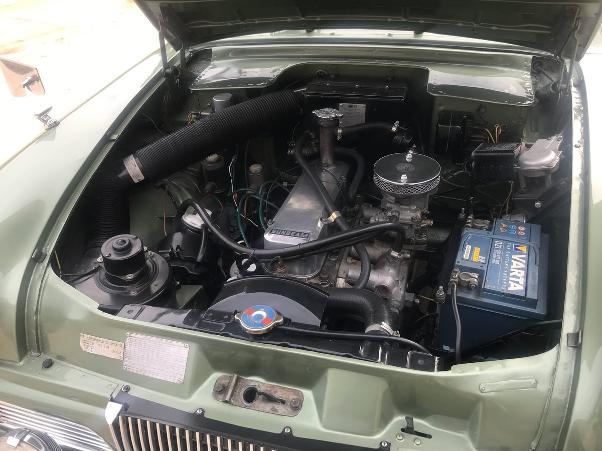 1964 Sunbeam Rapier MkIV For Sale (picture 6 of 7)