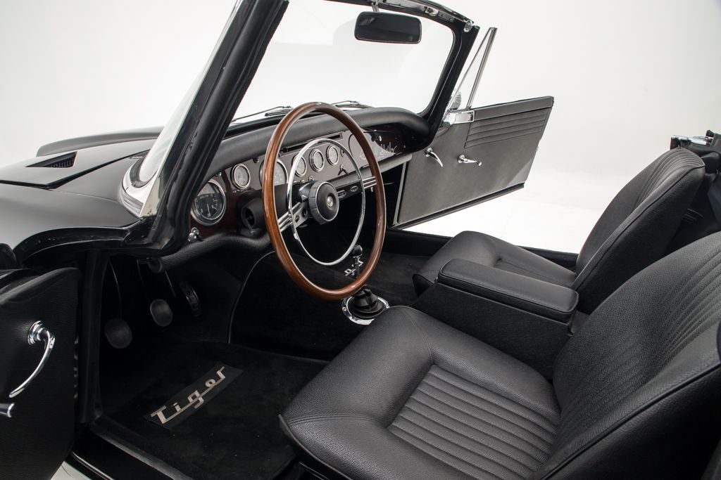 1967  Sunbeam Tiger Full Restored Black Rare 2.6k miles 289 $79.5 For Sale (picture 3 of 6)
