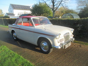1962 Rapier Mk3A convertible 4 seater Dove Grey with new red hood For Sale