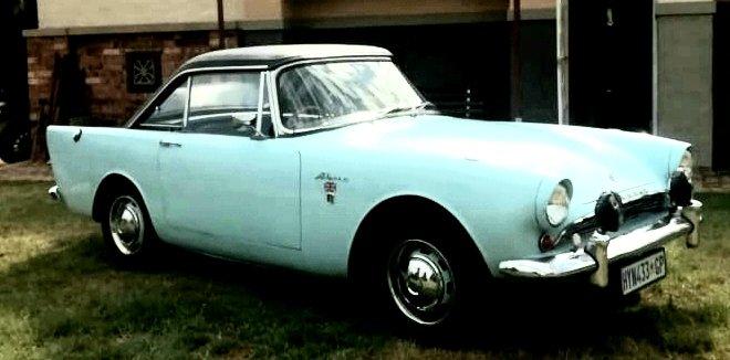 1963 Sunbeam Alpine For Sale (picture 1 of 5)
