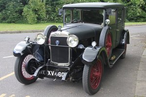 1928 Sunbeam 16hp Weymann Saloon - GORGEOUS