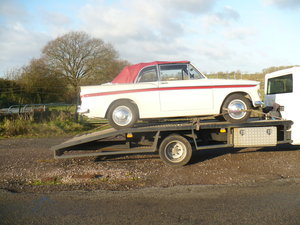 sunbeam rapier convertible 1962 series 3a For Sale