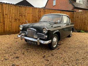 1961 Sunbeam Rapier Series 111A 1600 SOLD