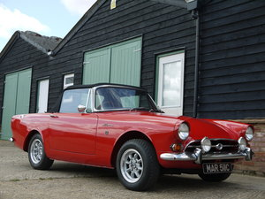 1965 SUNBEAM ALPINE SPORTS CONVERTIBLE MK5 WITH OVERDRIVE !! SOLD