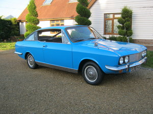 1972 SUNBEAM RAPIER COUPE IN CARIBBEAN BLUE. 52,000 MILES SOLD