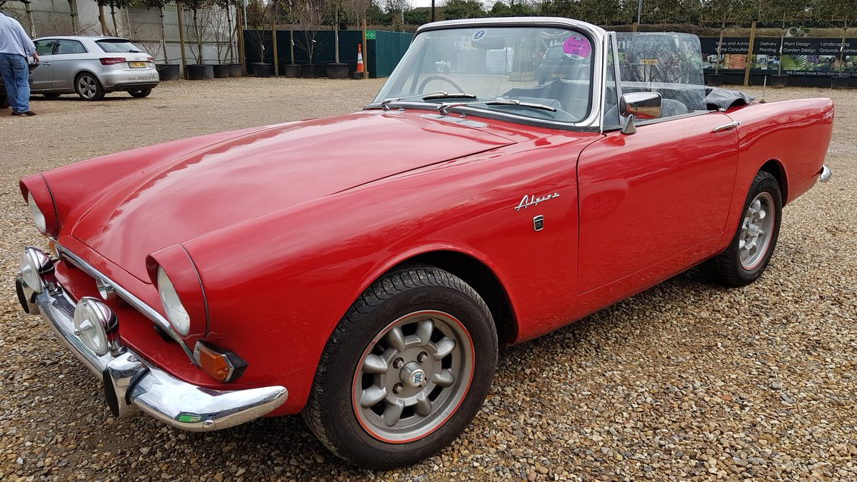 1967 Sunbeam Alpine Gt Series 5 Holbay 1725 Overdrive