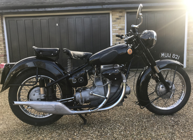 1952 Sunbeam S8 Classic Motorbike  For Sale (picture 2 of 6)
