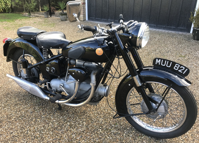 1952 Sunbeam S8 Classic Motorbike  For Sale (picture 4 of 6)
