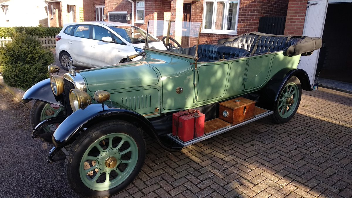 1920 Sunbeam 16hp Tourer For Sale (picture 1 of 6)