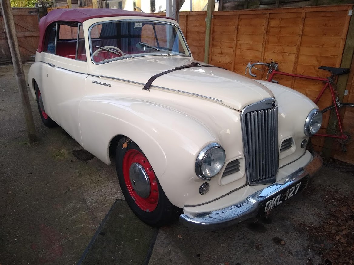 1951 Sunbeam Talbot MKII Coupe for Auction 16th - 17th July For Sale by Auction (picture 1 of 6)