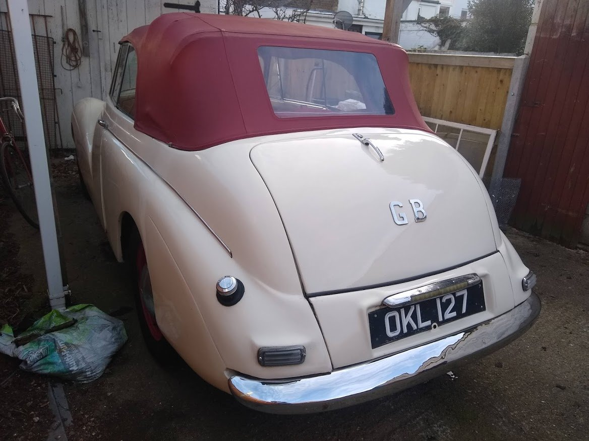 1951 Sunbeam Talbot MKII Coupe for Auction 16th - 17th July For Sale by Auction (picture 3 of 6)