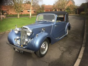 1947 Sunbeam Talbot 2 litre Drop Head Coupe - Master Class C For Sale
