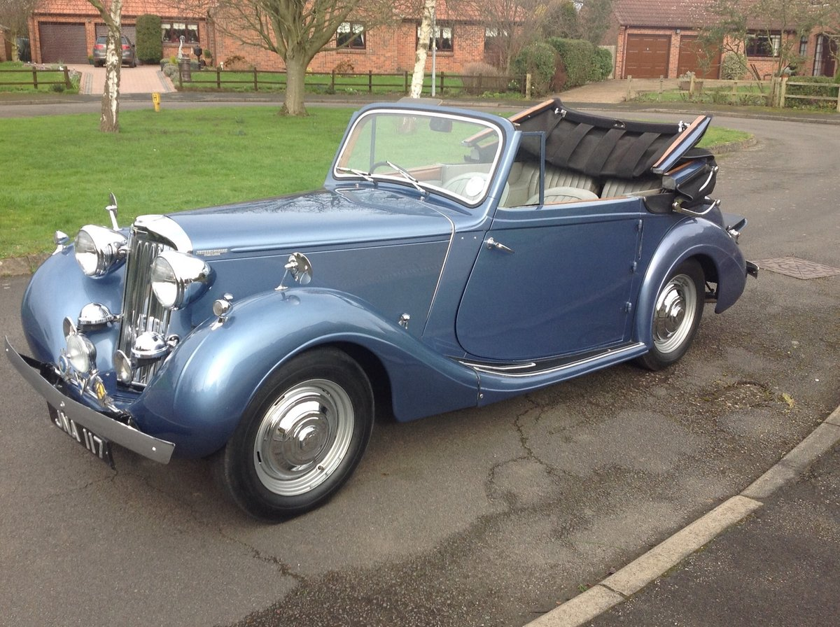 1947 Sunbeam Talbot 2 litre Drop Head Coupe - Master Class C SOLD (picture 2 of 24)