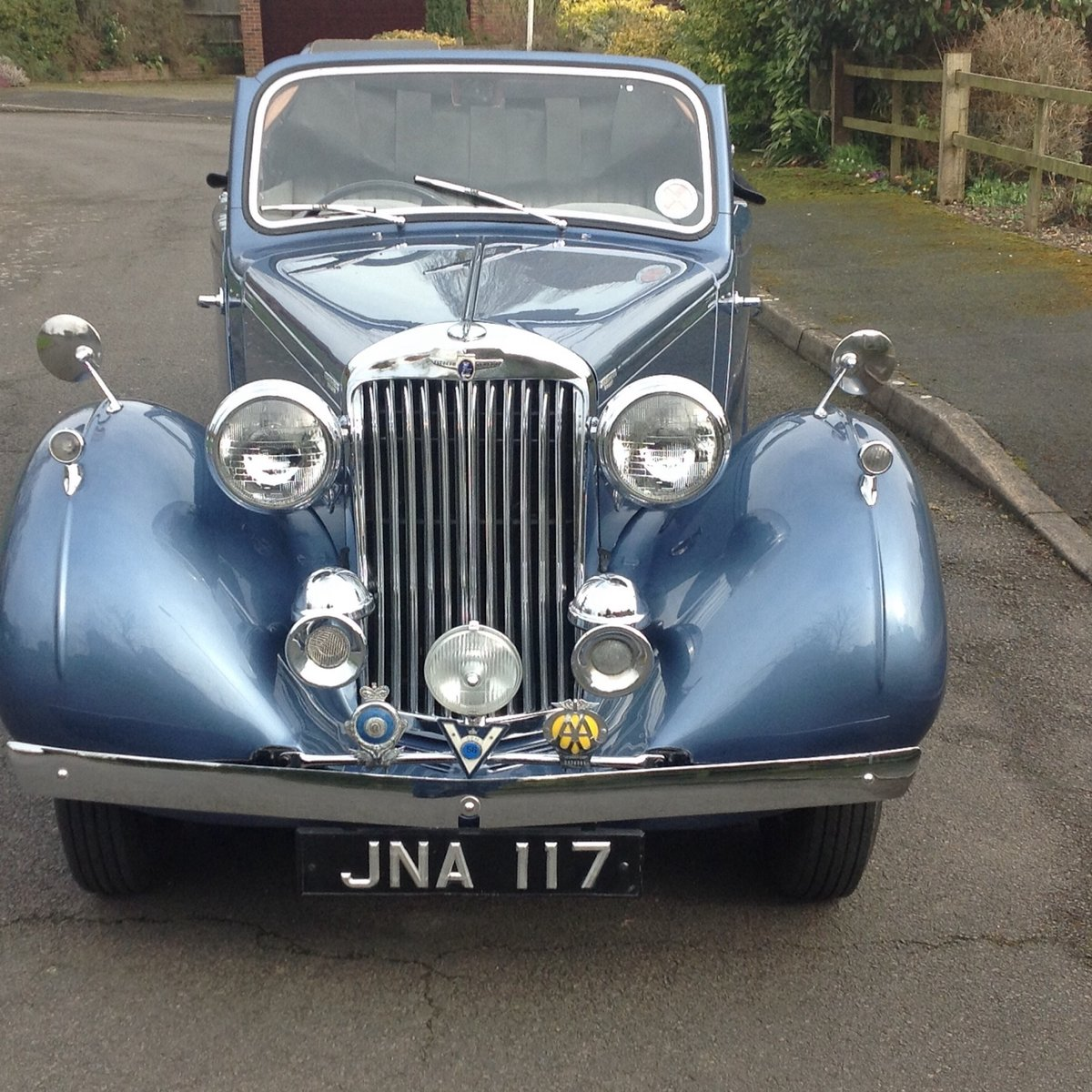 1947 Sunbeam Talbot 2 litre Drop Head Coupe - Master Class C SOLD (picture 4 of 24)