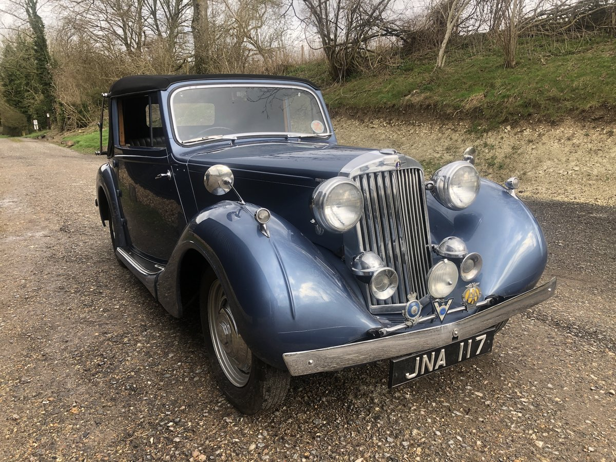 1947 Sunbeam Talbot 2 litre Drop Head Coupe - Master Class C SOLD (picture 1 of 24)