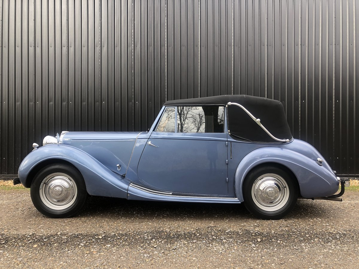 1947 Sunbeam Talbot 2 litre Drop Head Coupe - Master Class C SOLD (picture 7 of 24)