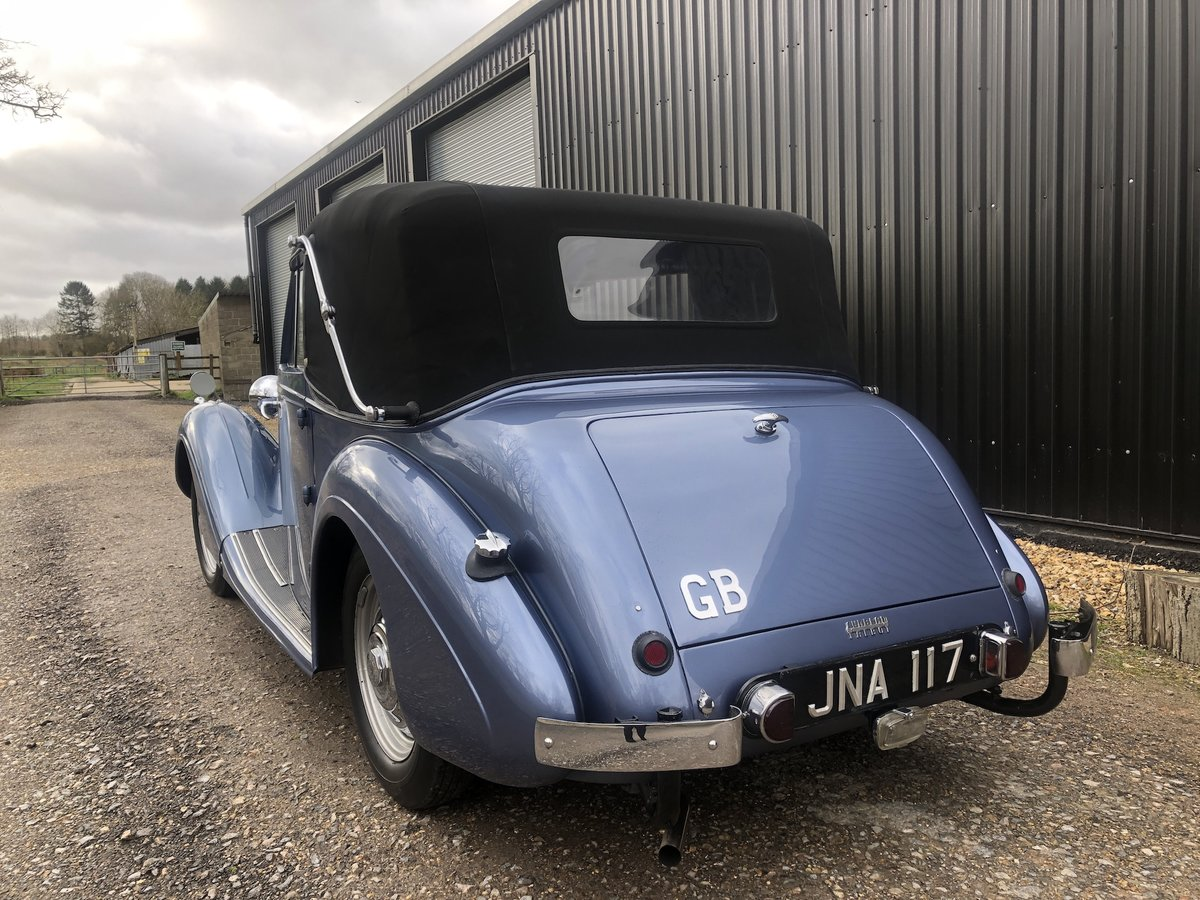 1947 Sunbeam Talbot 2 litre Drop Head Coupe - Master Class C SOLD (picture 8 of 24)
