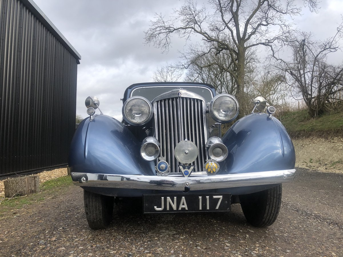 1947 Sunbeam Talbot 2 litre Drop Head Coupe - Master Class C SOLD (picture 14 of 24)