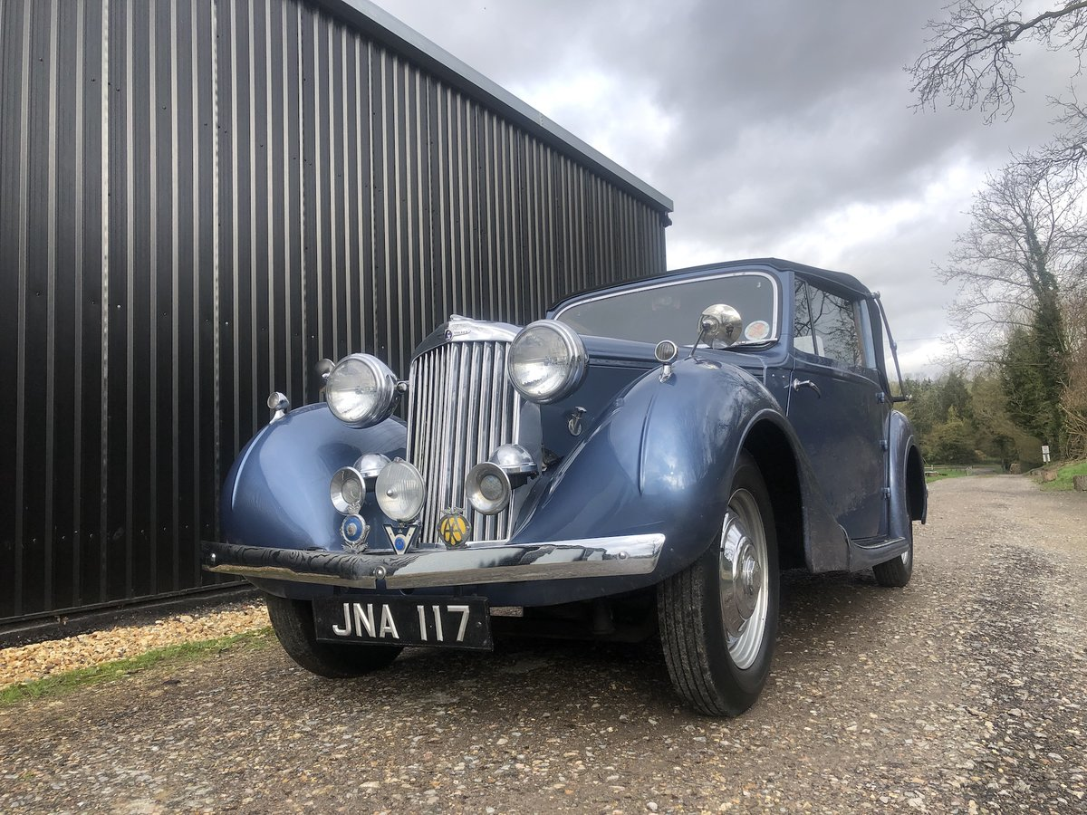 1947 Sunbeam Talbot 2 litre Drop Head Coupe - Master Class C SOLD (picture 15 of 24)