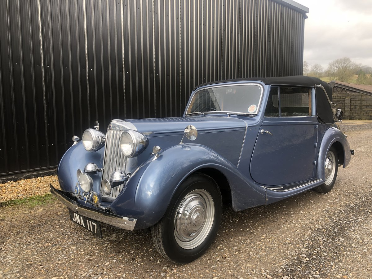 1947 Sunbeam Talbot 2 litre Drop Head Coupe - Master Class C SOLD (picture 19 of 24)