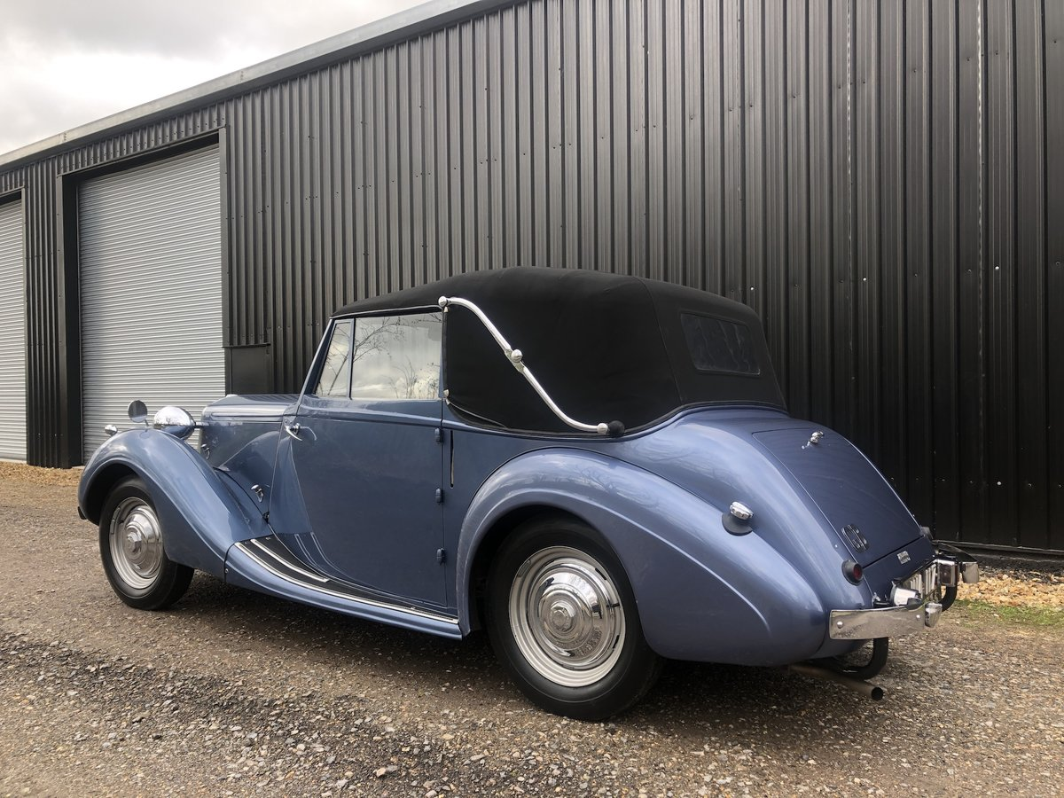 1947 Sunbeam Talbot 2 litre Drop Head Coupe - Master Class C SOLD (picture 21 of 24)