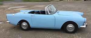 1964 SUNBEAM ALPINE S4. 1600cc. OVERDRIVE.  WEDGEWOOD BLUE. For Sale