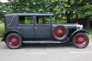 Sunbeam 16.9hp Weymann Saloon - an absolute delight