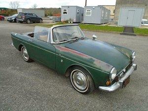 1966 SUNBEAM TIGER V8 MK1A LHD 1 OWNER ORIGINAL PAINT!  SOLD