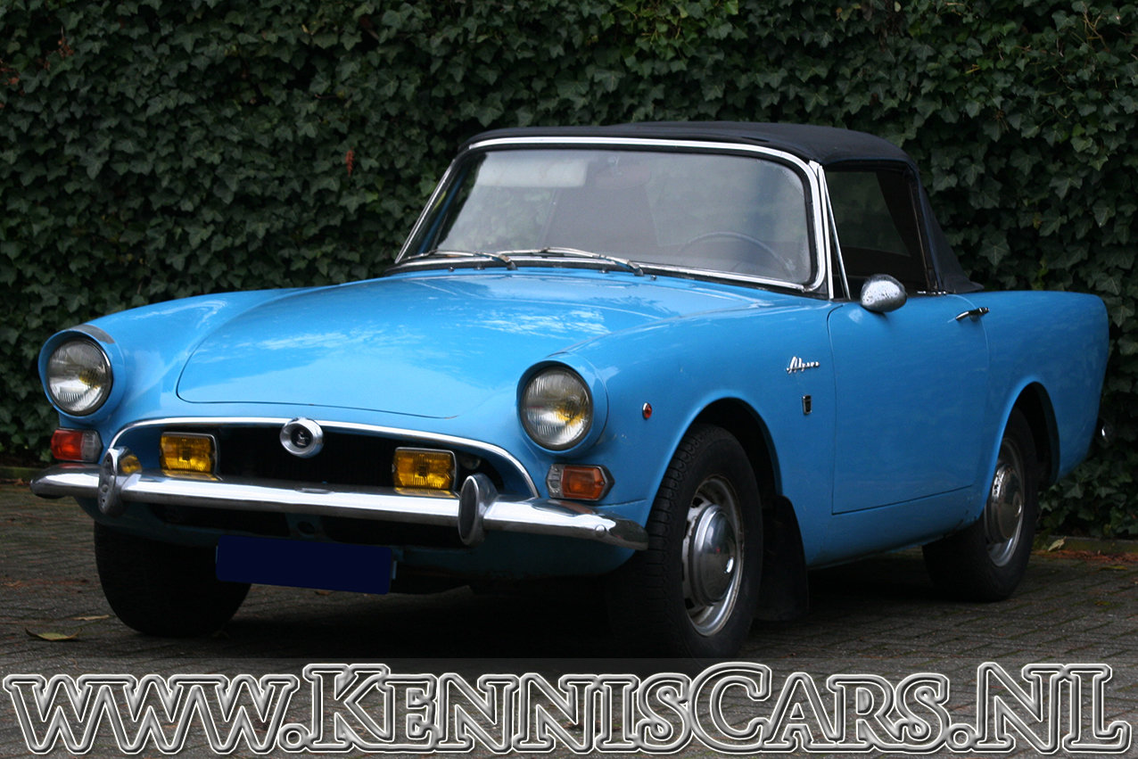 Sunbeam Alpine Convertible Mark V 1966 For Sale (picture 1 of 6)