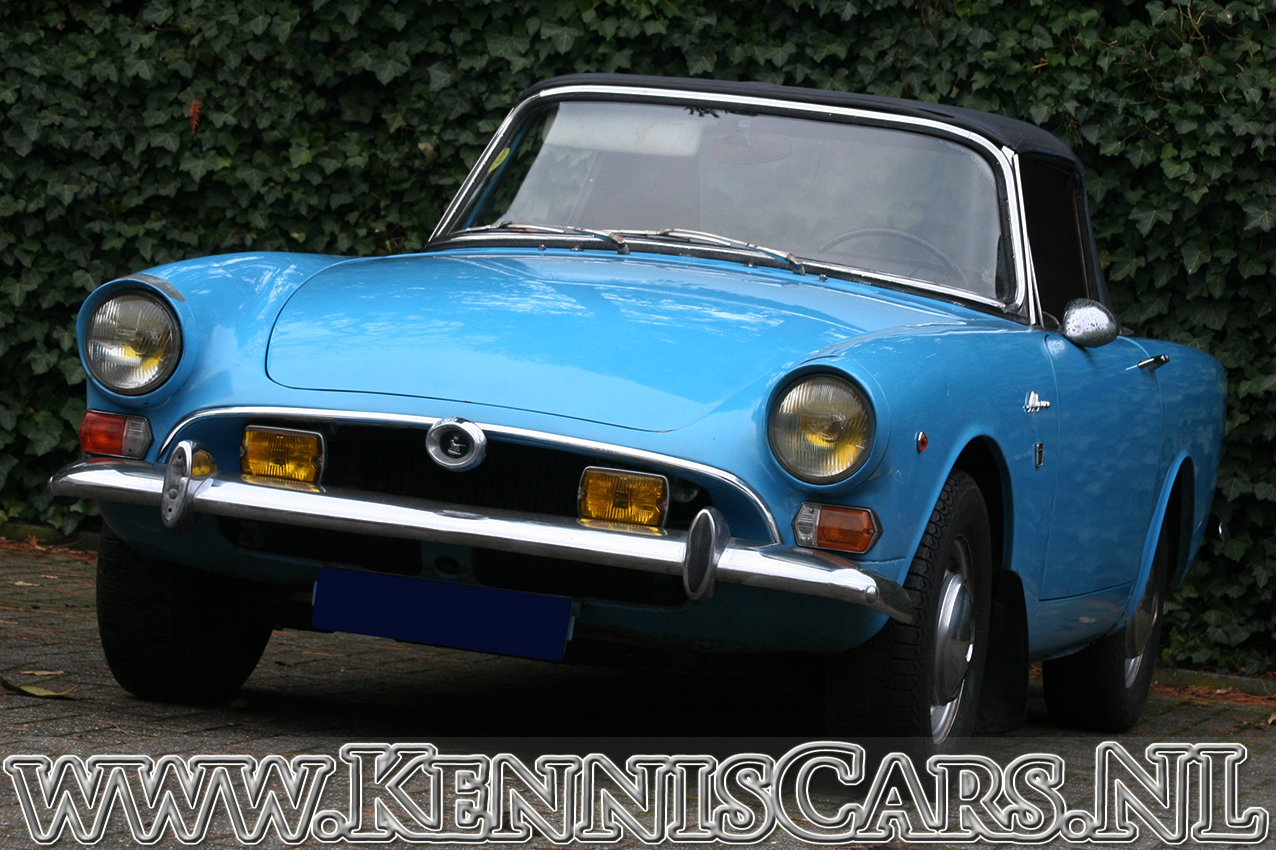 Sunbeam Alpine Convertible Mark V 1966 For Sale (picture 2 of 6)