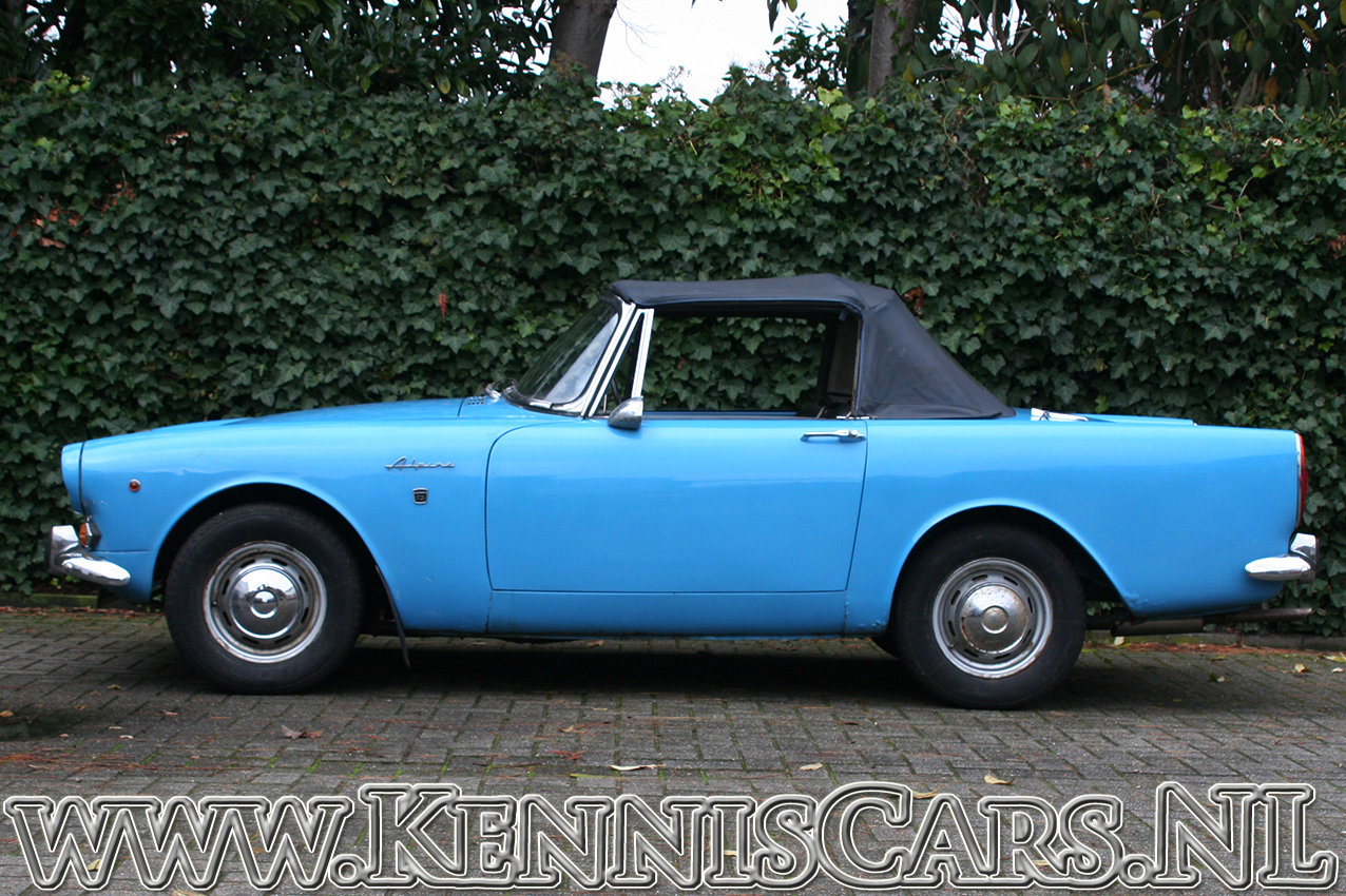 Sunbeam Alpine Convertible Mark V 1966 For Sale (picture 4 of 6)