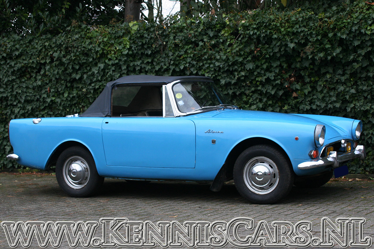 Sunbeam Alpine Convertible Mark V 1966 For Sale (picture 5 of 6)