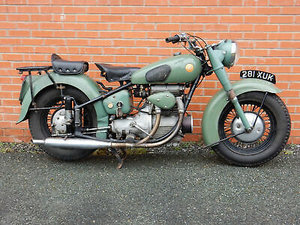 Sunbeam S7 500cc First Registered 28th March 1955  For Sale