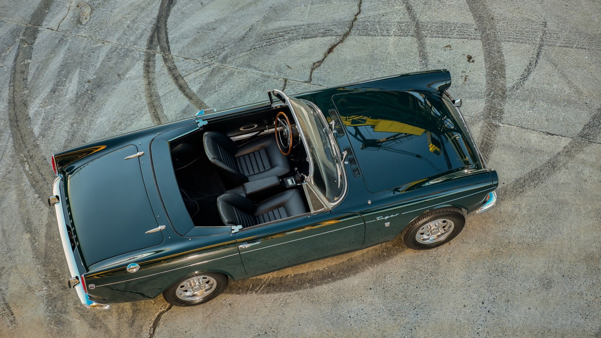 1965 Sunbeam Tiger MkI Roadster(~)Coupe with HardTop For Sale (picture 3 of 6)