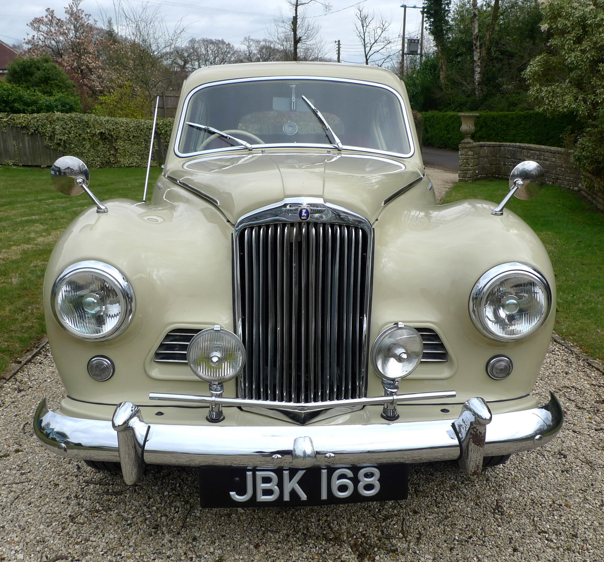 1953 Sunbeam Talbot 90 Mk11A saloon For Sale (picture 1 of 6)