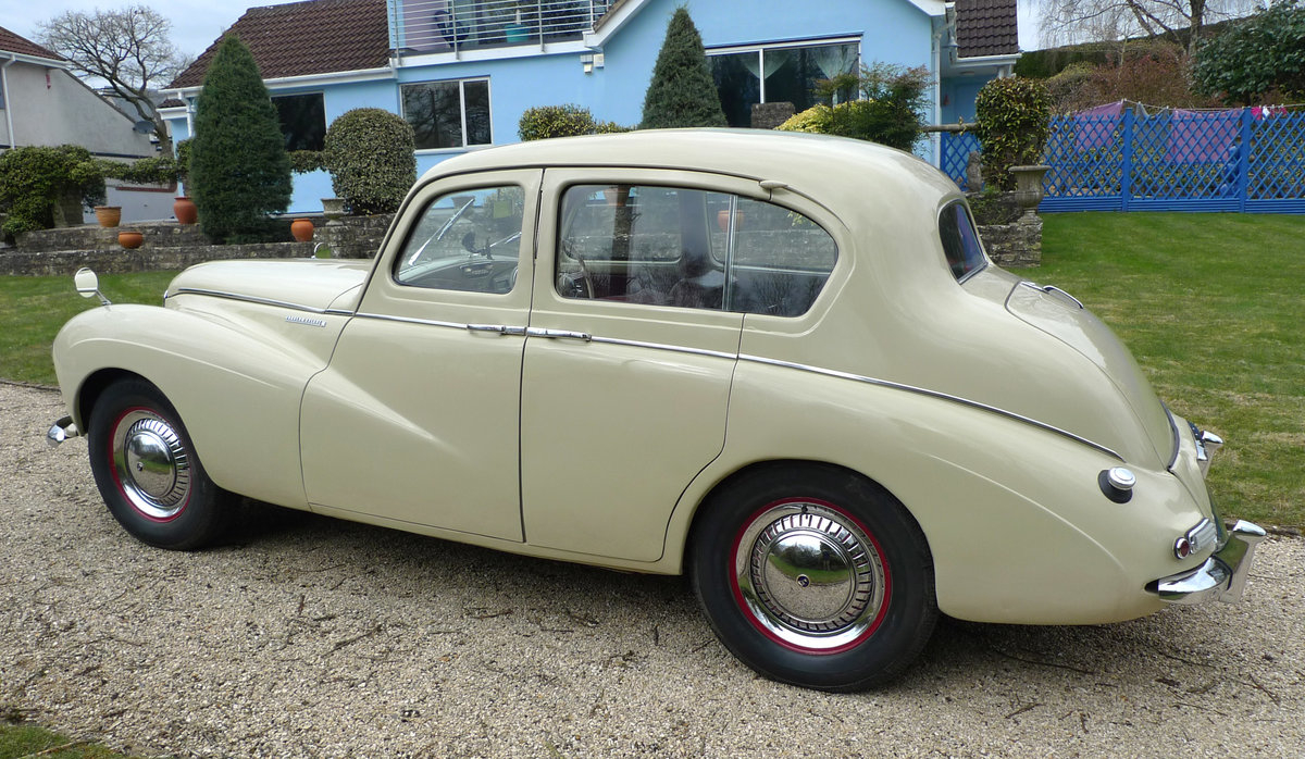 1953 Sunbeam Talbot 90 Mk11A saloon For Sale (picture 2 of 6)