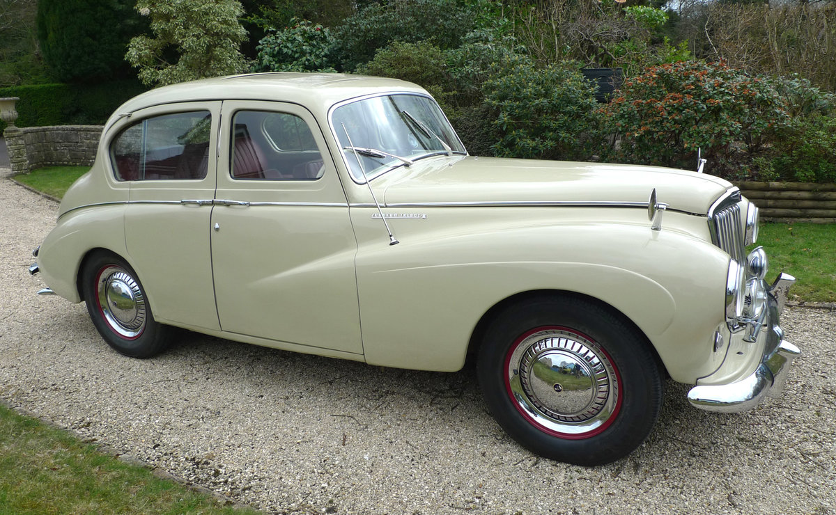 1953 Sunbeam Talbot 90 Mk11A saloon For Sale (picture 4 of 6)