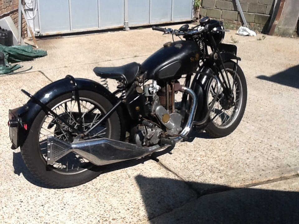 1937 Sunbeam 350cc  For Sale (picture 2 of 6)