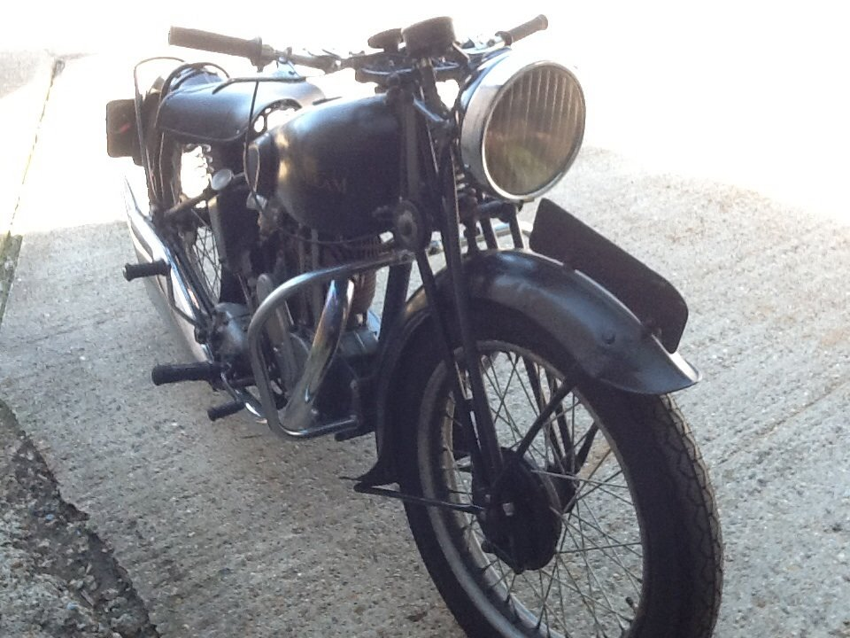1937 Sunbeam 350cc  For Sale (picture 6 of 6)