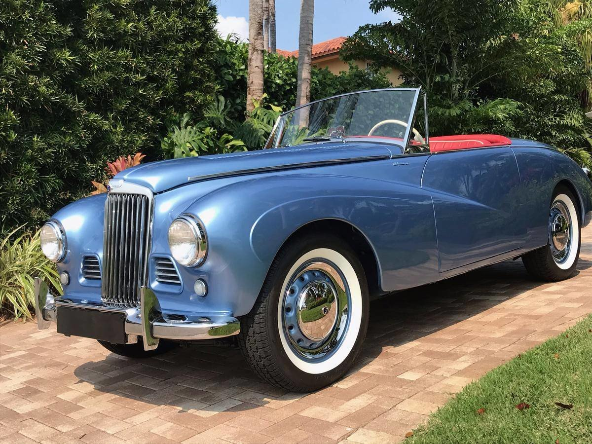 1954 Sunbeam Alpine Sport Convertible For Sale (picture 1 of 6)
