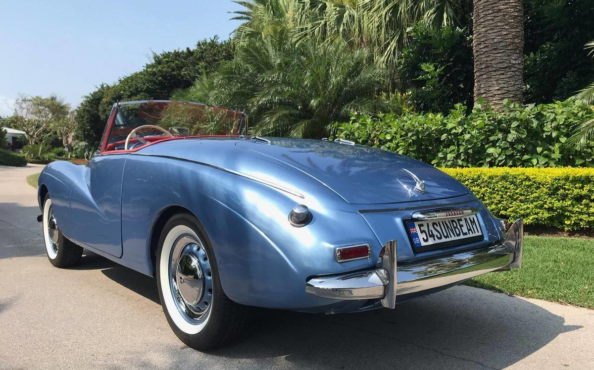 1954 Sunbeam Alpine Sport Convertible For Sale (picture 2 of 6)