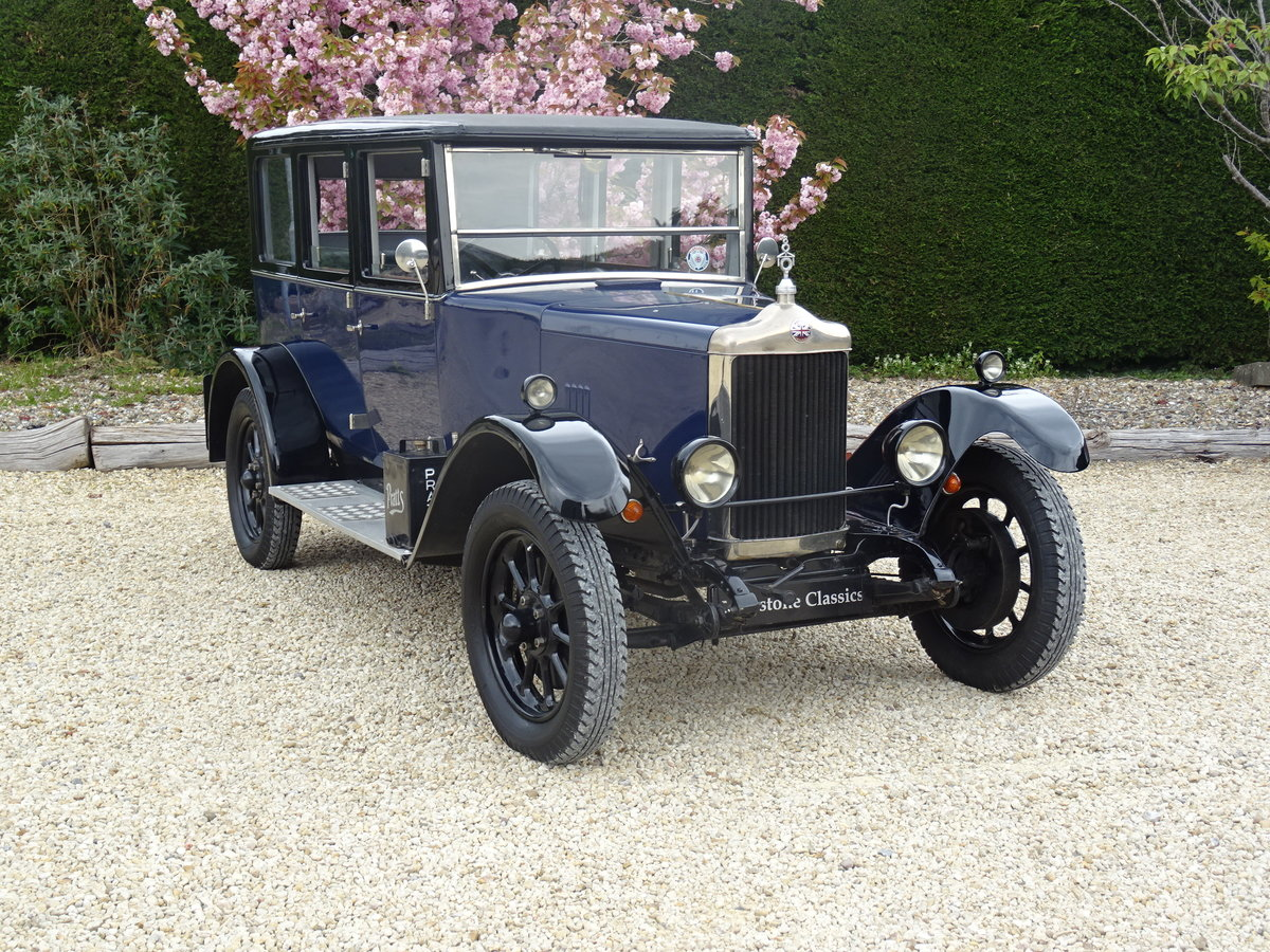 1926 Standard Park Lane Saloon – Utterly Charming For Sale (picture 2 of 6)