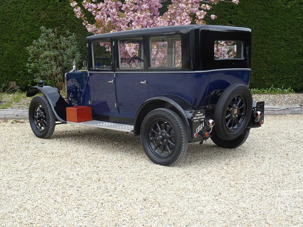 1926 Standard Park Lane Saloon – Utterly Charming For Sale (picture 5 of 6)