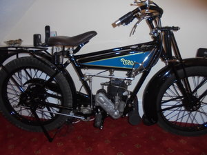 Picture of 1923 sunbeam flat tank vintage motorcycle