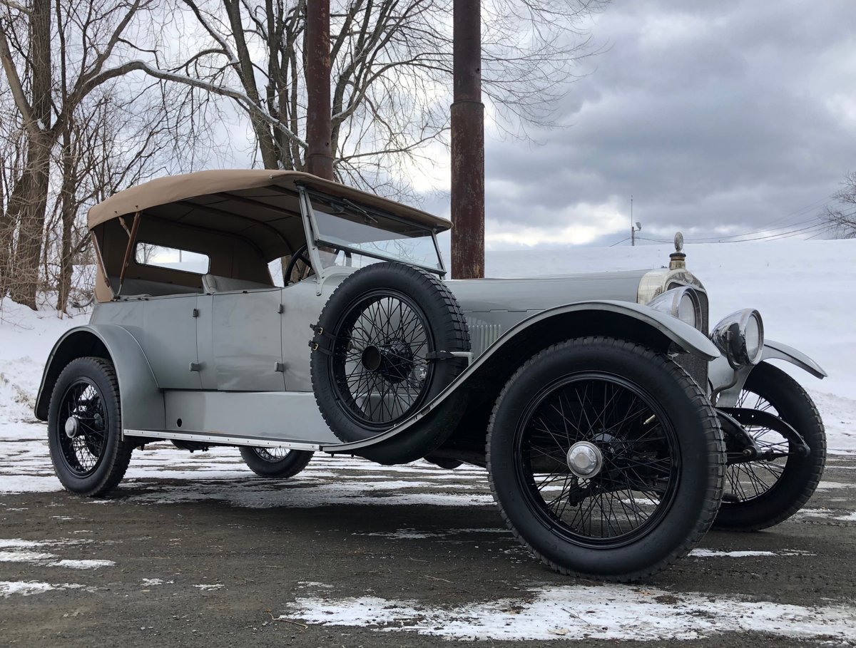 1922 Sunbeam 24/60 Brewster Phaeton For Sale (picture 1 of 6)
