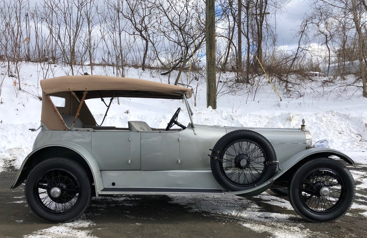 1922 Sunbeam 24/60 Brewster Phaeton For Sale (picture 2 of 6)