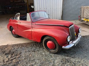 1950 Sunbeam-Talbot 80 DHC project 30/5/20 SOLD by Auction